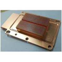 Quality Customized Brass Heat Sink Skived Fin Heat Sink Copper Cooler For Automotive wholesale