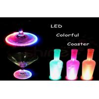 Cheap waterproof cup bottle electroluminescent products led drink coaster for bar of - Lighted coaster ...