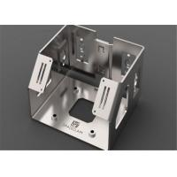 Quality Sheet Metal Fabrication Metal Stamping Parts , Sheet Metal Components Stable wholesale
