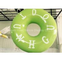 Quality Hand Carved Shop Display Christmas Decorations Promotional Big Size Fiberglass Donuts wholesale