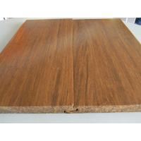 Cheap Click lock Carbonized Strand Woven Bamboo Flooring for sale