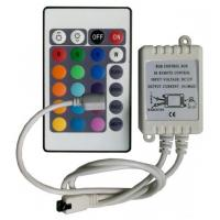 Quality 12V, 24V 3 Channels 24 Key IR Remote Control Mini Led Lighting Controller Wireless wholesale