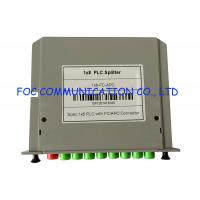 Quality FC / APC Low Loss Splitter, Passive Rack Mount PLC Splitter Cassette Box Type wholesale