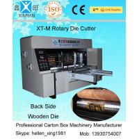 Quality Computer Control 5KW Carton Cutting Machine With Vacuum Adsorption Feeding System wholesale