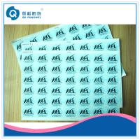Quality Self Adhesive Vinyl Labels , Embossing PE Permanent Adhesive Stickers wholesale