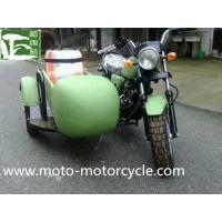 Quality Chinese Factory Military 150 250cc CE Three Wheel Motorcycle With Sidecar Side Wheel Trike wholesale