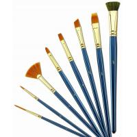 Quality Customized Logo 4 Inch Artist Painting Brushes Liner Brushes For Oil Painting wholesale