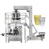 Quality 8 Station Stand Up Pouch Packaging Machine , Zipper Pouch Doypack Packing Machine wholesale