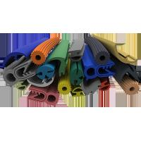 Quality Multi Color Silicone Extruded Rubber Profiles Chemically Extremely Stable wholesale