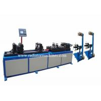 Quality High Speed Radiator Making Machine Harmonica Tube Straightening And Cutting wholesale