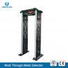 Buy cheap Waterproof Arch Door Frame Metal Detector ABS Material IP65 6 Detection Zones from wholesalers