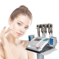 Quality 8 Inch Touch Screen Rf Cavitation Slimming Machine 100mv Non Surgical Laser Lipo Equipment wholesale