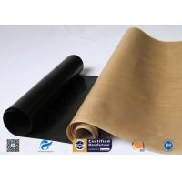China Non-Stick High Temperature Resistant PTFE Coated Fiberglass Fabric on sale