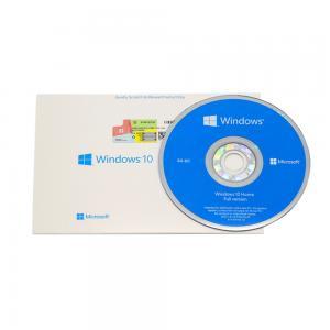 China Windows 10 Home Online Activation Key 64 Bit System Builder OEM PC DVD Operating System on sale