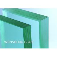 Quality Safe 6mm Tempered Glass Bullet Resistant Window Building Use wholesale