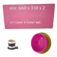 Cheap kitchen living silicone mat ,cheap silicone cooking mat for sale