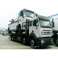 Quality North Benz Heavy Duty Flatbed Wrecker Tow Truck With Hydraulic Winch 25m wholesale