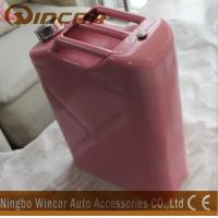 Buy cheap Pink Costomized Color Metal Petrol Jerry Cans 5L/ 10L / 20L Capacity from wholesalers