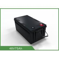 China Professional 48V 75AH Floor Scrubber Battery With High Energy Density on sale