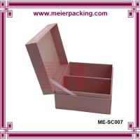Quality Wholesale Custom Recycle Packaging Box/Clothing Collection Cardboard box ME-SC007 wholesale