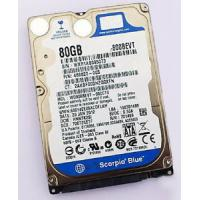 Quality 80GB 2.5 inch sata hard drive 5400 rpm Internal hard disk for laptop W800BEVT wholesale