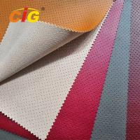 Buy cheap 2018 Soft Feeling Holes Pvc Artificial Leather High Tear Fastness For Car Seat from wholesalers