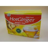 Cheap Soft Honey Tea Ginger Instant Drink Powder Particle Calorie Free 10 G * 20 Pcs for sale
