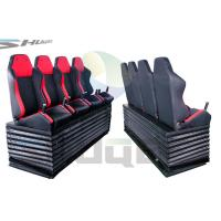 Quality Hydraulic / Pneumatic / Electromotive Control System 4D / 5D / 7D Motion Theater Chair wholesale