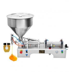 China 60HZ 50bottles/Min Piston Paste Liquid Filling Machine on sale