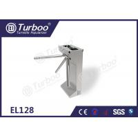 Quality Commercial Access Control Waist High Turnstile Semi - Auto Waterproof Stable wholesale