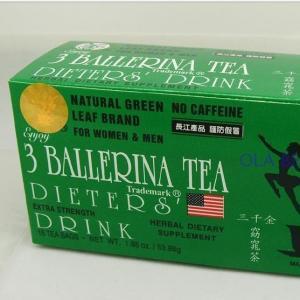 China 3 ballerina herbal slim capsule/tea/patch hot sell wholesale on sale