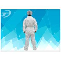 Quality Fully CPE Film Breathable Disposable Coverall Suit / Disposable Plastic Body Suit wholesale
