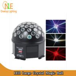 Quality Factor LED magic crystal ball light bar light KTV light led rotating disco mirror ball wholesale