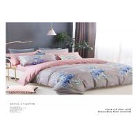 Quality Natural 200TC 100% Cotton Home Bedding Sets With Customized Pattern wholesale