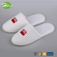 Quality New Luxury Warm Coral Fleece Closed Toe Hotel Slipper ISO8124 wholesale