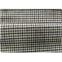 Quality 600 G / M Little Tartan Plaid Fabric With 30 Wool 70 Synthetic Vintage Suit/Coat wholesale
