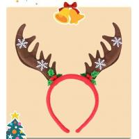 China Lovely Christmas Plush Hairband Headband Hairpin For Playing on sale