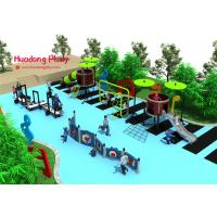 China Funny Outdoor Playground Slides Linear Low Density Polyethylene Easy Installation on sale