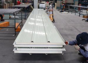 China FRP Heat Insulation Polyurethane Foam Sandwich Panel For Clean Room on sale