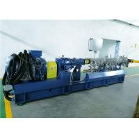 China High Performance Two Screw Extruder For Plastic Compounding And Pelletizing on sale