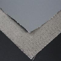 China Heat resistance PTFE coated fiberglass adhesive fabric on sale