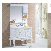 Quality Modern 18mm / 15mm PVC bathroom cabinet 100 X 52 X 85 / cm Soft closing system wholesale