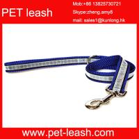 Quality Reflective Polyester pet neck ring pet leash QT-0011 wholesale
