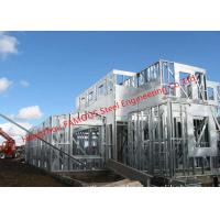 Quality Galvanized H-beam Steel Structure Framing Systems For Workshop or Villa House wholesale
