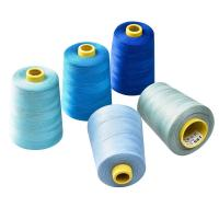 China Stretch Fire Resistant Sewing Thread , 3m Reflective Thread Protective Clothing on sale