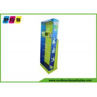 Quality Customized cardboard display stand with plastic hooks for magic products HD033 wholesale