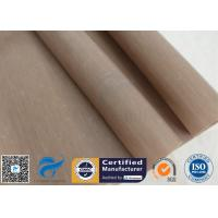 China 0.12mm PTFE Coated Fiberglass Fabric Non Stick Food Grade BBQ Grill Mat Oven Liner on sale