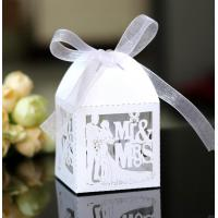China Luxury Card Wedding Gift Box With Ribbon for Favor Sweet Lollipop Candy Party on sale