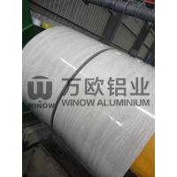 Quality PVDF Paint Wood Pattern Colored Aluminum Foil / Aluminum Sheet Coil ISO9001 wholesale