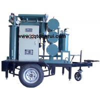 Quality Protable ZJL Dielectric Oil Purifier with Trailer,Insulating Oil Filtration machine wholesale